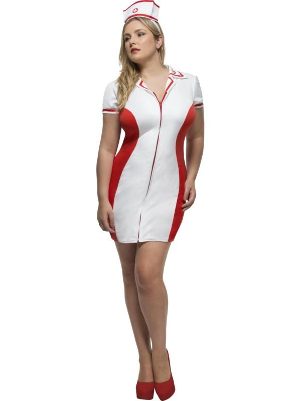 7831332ef1c Dámský kostým zdravotní sestřička XL+