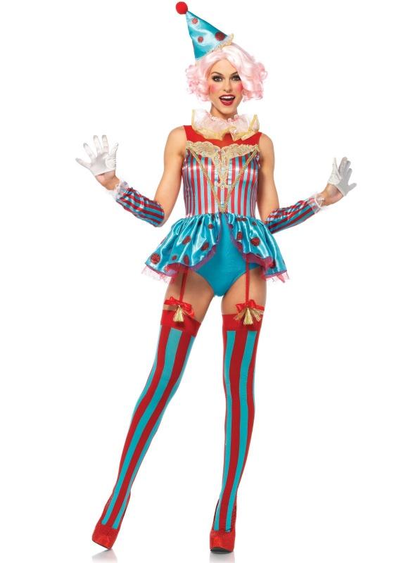 8f8a6a027f4c Dámský kostým Klaunice z cirkusu - Ptákoviny Ípák