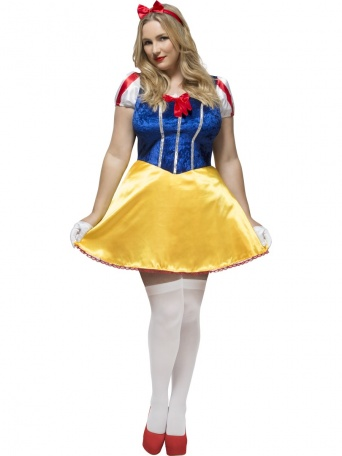 0ceb45d18 E-shop > Karnevalové kostýmy > Kostýmy pro dospělé > Pohádkové a filmové >  Dámský kostým Sněhurka XL +