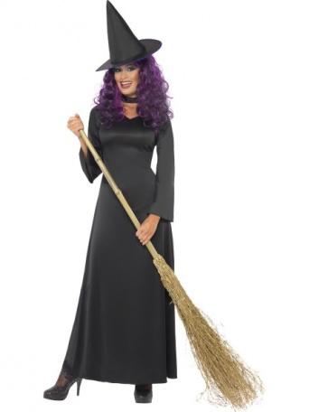Kostým pro ženy - Čarodějnice černá 1b26c2f5c93