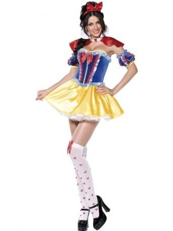 712624020 E-shop > Karnevalové kostýmy > Kostýmy pro dospělé > Pohádkové a filmové >  Kostým pro ženy - Sexy Sněhurka deluxe