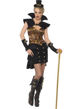 320076c2299 Dámský kostým Vampírka ve stylu steam punk - Ptákoviny Ípák